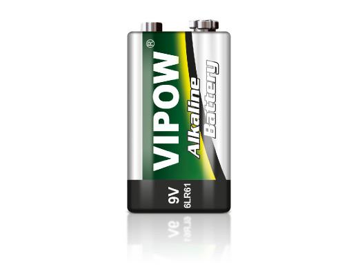 Baterie alkaliczne VIPOW 9V...