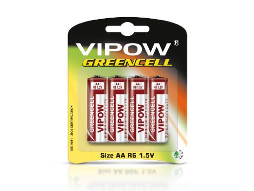 Baterie VIPOW GREENCELL R6...
