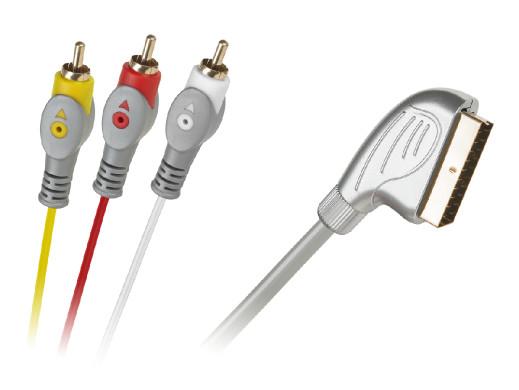 Kabel Euro-3RCA 1.5m...