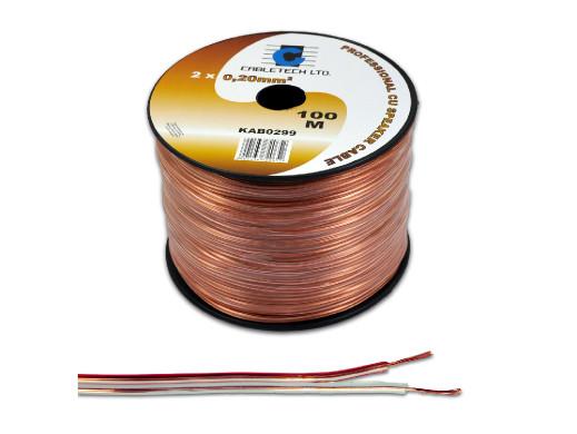 Kabel głośnikowy 0,5mm