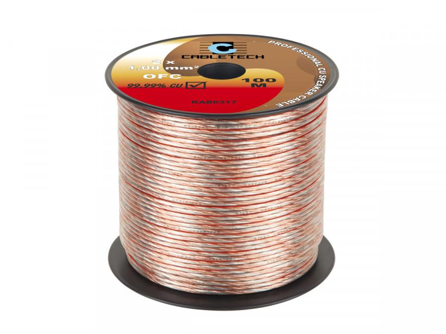 Kabel głośnikowy OFC 1,0mm