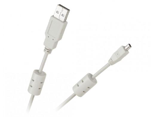 Kabel USB AM-BM mini USB z filtrem do HP