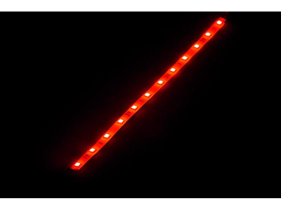 Listwa diodowa giętka 30 cm czerwona (12x 5050 SMD)
