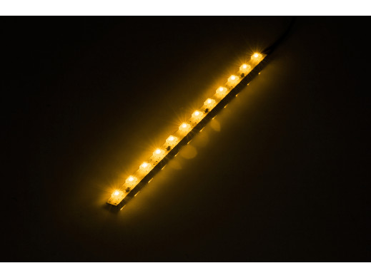 Listwa LED FLUX 24cm ŻÓŁTA 12V