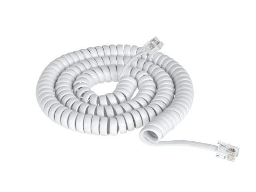 Przyłącze telefoniczne 14 ft biały