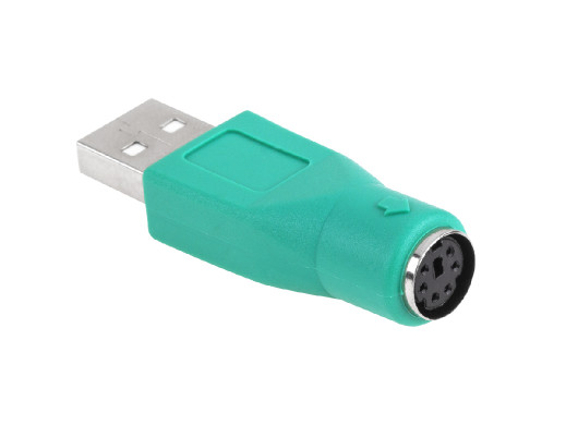 Złącze wtyk USB/gniazdo PS2