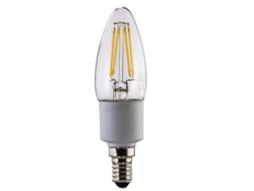 ŻARÓWKA LED FILAMENT. ŚCIEMNIALNA E14 /4,5W(40W) /470LM /2700K /230V
