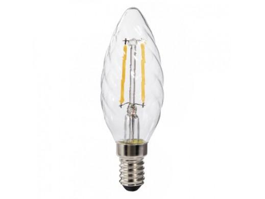 ŻARÓWKA LED FILAMENT. E14 /2,5W(25W) /250LM /2700K /230V