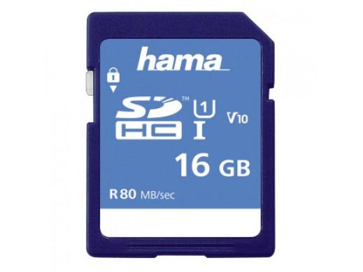 KARTA PAMIĘCI HS GOLD SDHC 16GB UHS-I 80MB /S C10