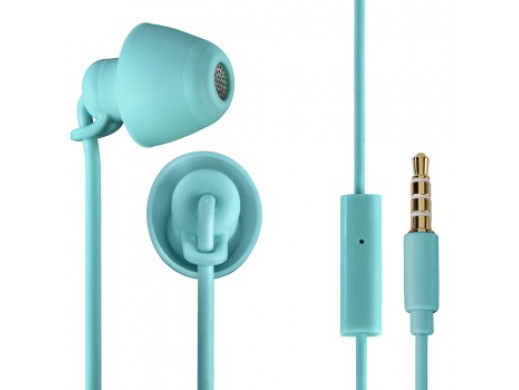 Słuchawki EAR3008 PICCOLINO, douszne, turkusowe, z mikrofonem do rozmów