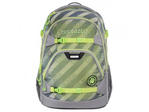 COOCAZOO plecak ScaleRale, MeshFlash, Neon Green
