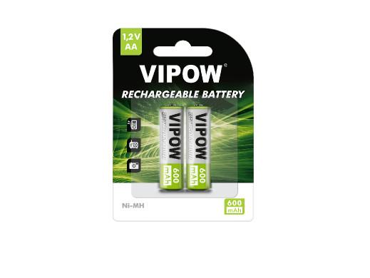 Akumulatorki VIPOW R06 600...