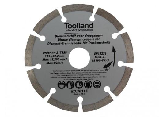 DIAMOND DISC - 230 mm - SEGMENTED