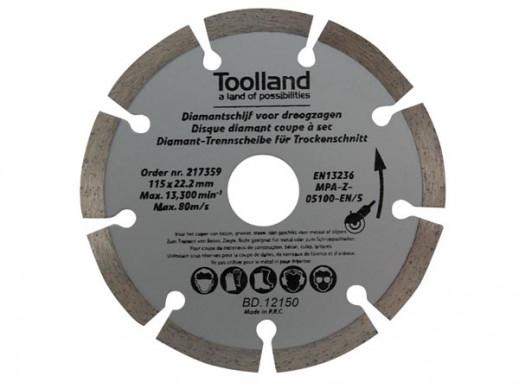 DIAMOND DISC SET - 150 mm - SEGMENTED - 2 pcs