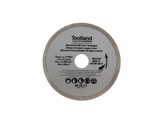 DIAMOND DISC - 180 mm x 25.4 mm
