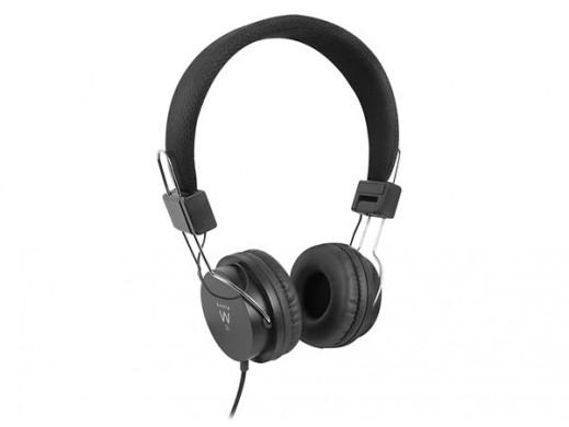 EWENT - FOLDABLE DJ HEADPHONES - BLACK