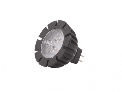 GARDEN LIGHTS - POWER LED MR16 - 3 W - 12 V - GU5.3 - BIAŁY CIEPŁY
