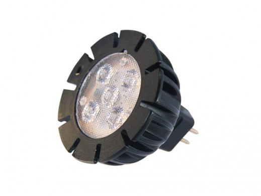 GARDEN LIGHTS - POWER LED MR16 - 5 W - 12 V - GU5.3 - BIAŁY CIEPŁY