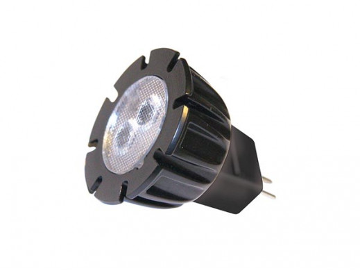 GARDEN LIGHTS - POWER LED MR11 - 2 W - 12 V - GU5.3 - BIAŁY CIEPŁY