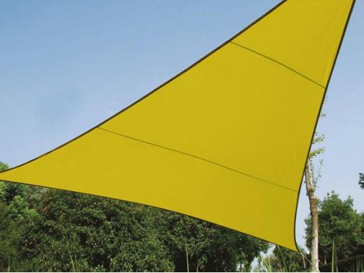 TRÓJKĄTNY ŻAGIEL PRZECIWSŁONECZNY- 5 x 5 x 5m, kolor: Limonkowy