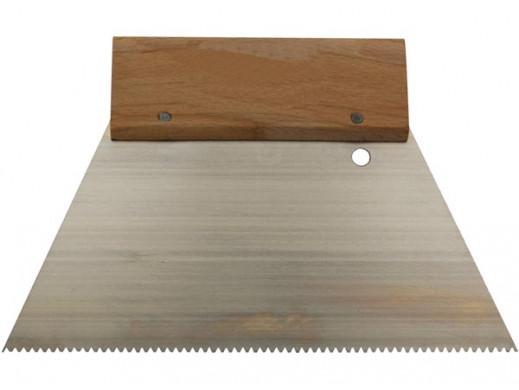 SCRAPER - 180 mm - STRAIGHT TEETH - FINE