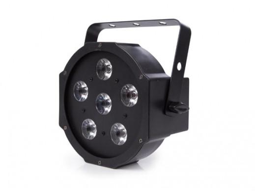 FLAT PAR - 6 x 3 W RGB LED