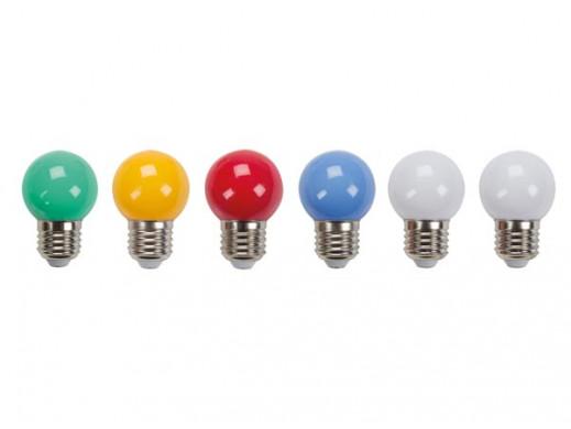 LAMPKI LED KOLOROWE - 10 szt.