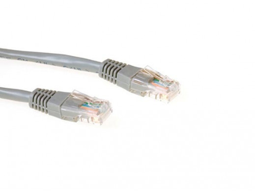 EWENT - U/UTP NETWORK PATCH CABLE / 1.5 m / GREY / M-M