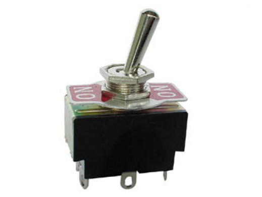 MAXI TOGGLE SWITCH DPDT...