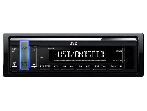 JVC KDX-161 Radio samochodowe USB