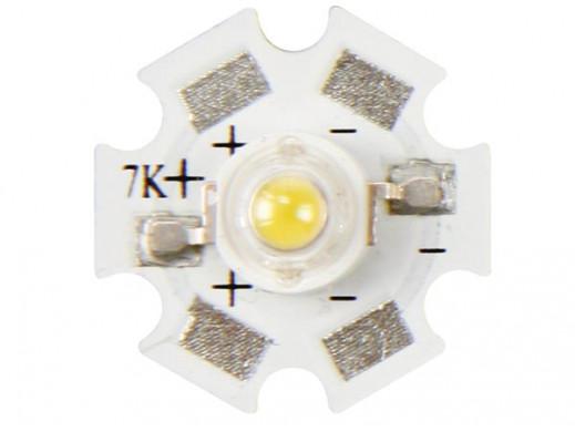HIGH POWER LED - 3 W - WARM WHITE - 210 lm