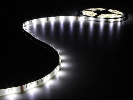 ELASTYCZNA TAŚMA LED - ZIMNY BIAŁY - 150 diod LED - 5 m - 12 V