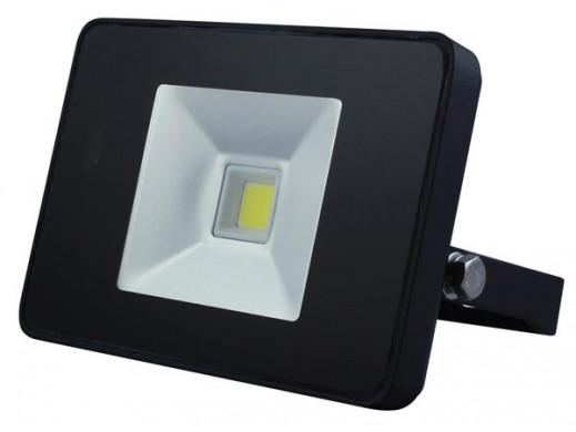 STYLOWY REFLEKTOR LED Z CZUJNIKIEM RUCHU - 10 W, NEUTRALNY BIAŁY