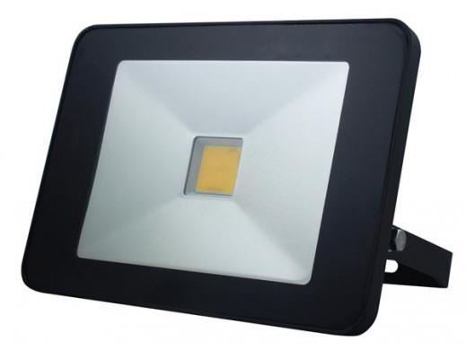 STYLOWY REFLEKTOR LED Z CZUJNIKIEM RUCHU - 50 W, NEUTRALNY BIAŁY