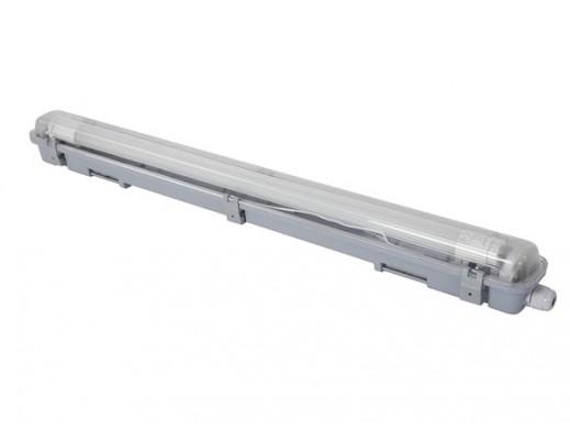 WODOODPORNA OPRAWA ZE ŚWIETLÓWKĄ LED T8 - 65,5 cm - NEUTRALNY BIAŁY