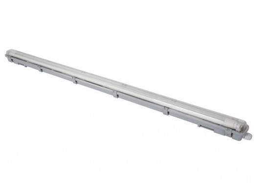 WODOODPORNA OPRAWA ZE ŚWIETLÓWKĄ LED T8 - 126,5 cm - NEUTRALNY BIAŁY