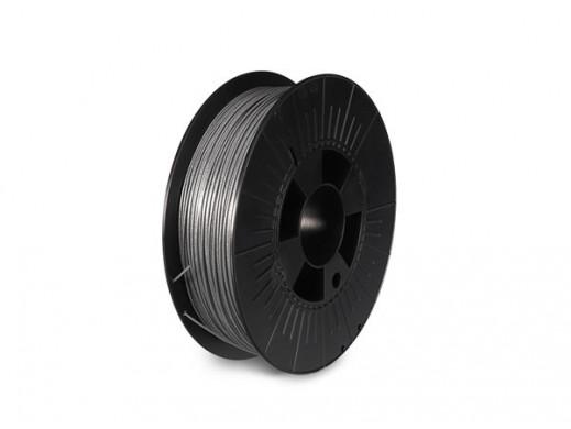 "1.75 mm (1/16"") PLA FILAMENT - METALLIC SILVER - GLITTER - 750 g"