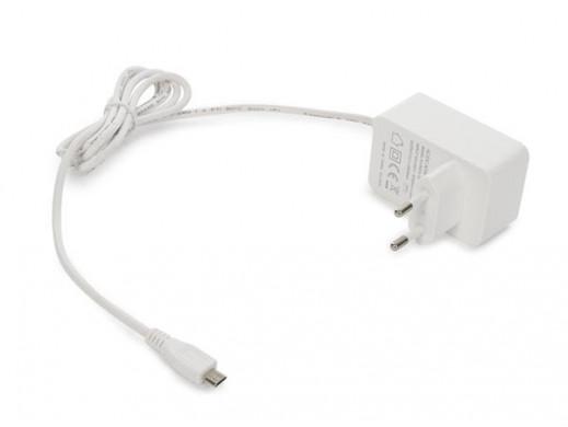 KOMPAKTOWA ŁADOWARKA ZE ZŁĄCZEM MICRO USB - 5 V - 1 A