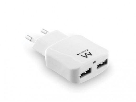 EWENT - 2 PORT USB SMART CHARGER 2.4 A