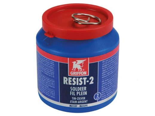 GRIFFON - TIN/SILVER SOLDERING WIRE - 500 g - 2 mm