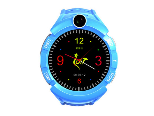 Watch Phone Kids z lokalizatorem GPS/WIFI Niebieski