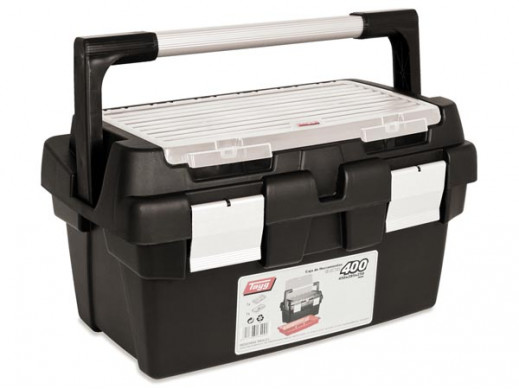 TAYG - TOOL BOX - 400 x 225 x 190 mm - WITH TRAY