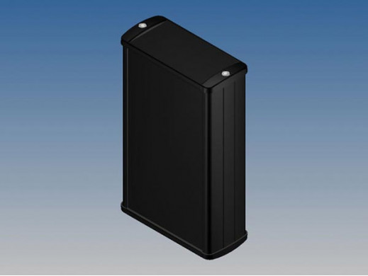 ALUMINIUM HOUSING - BLACK...