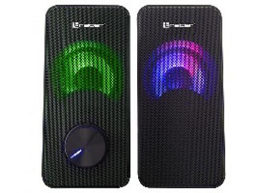 Głośniki TRACER 2.0 Loop RGB USB