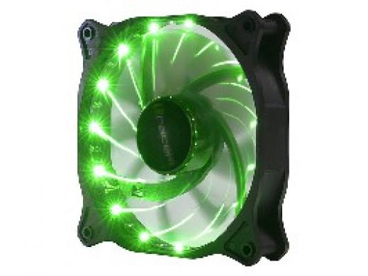 Wentylator LED 12cm Green