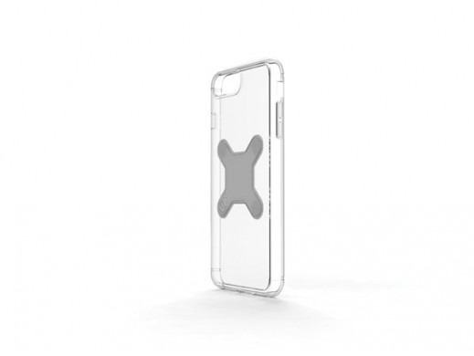 EXELIUM - MAGNETYCZNE ETUI OCHRONNE DO ŁADOWANIA BEZPRZEWODOWEGO - iPhone® 8+ - PRZEZROCZYSTE