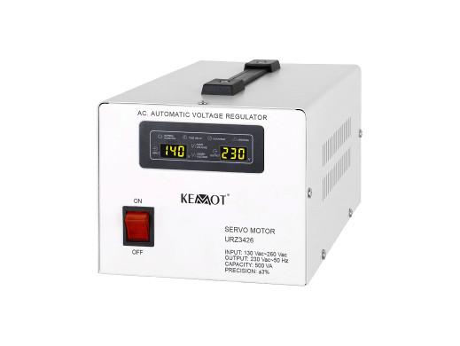 Automatyczny stabilizator napięcia  KEMOT MSER-1000 (1000 VA, serwomotor)
