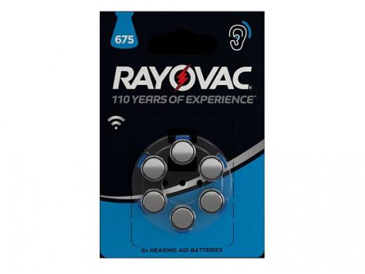 ZINC AIR CEL RAYOVAC 1.45 V...