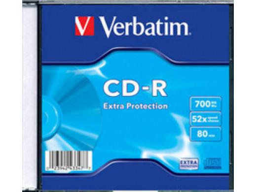 CD-R VERBATIM EP 52x Slim 200Pack 43347-28B