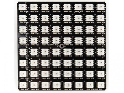 MATRYCA Z 64 DIODAMI LED RGB